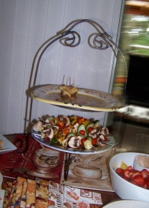Tiered Serving Platters